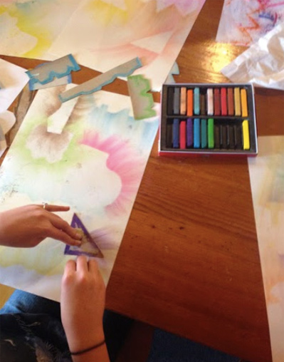Abstract Landscapes in Pastel Lesson Plan